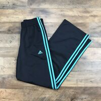 Adidas Gym Pants Sweatpants Men's XS Extra Small 3 Stripes Loose Fit Climawarm