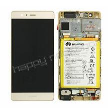 DISPLAY HUAWEI ORIGINALE P9 EVA-L09 GOLD CON BATTERIA 02350SHB TOUCH LCD
