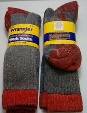 Wrangler Merino Wool Boot Sock, L (Men's Shoe 9-13), 2 pair $14.99