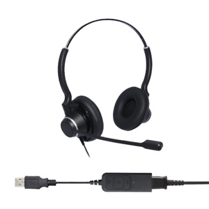 Ultra Noise Cancelling Binaural USB Headset