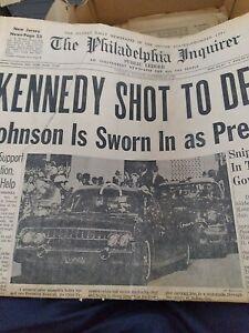 The Philadelphia Inquirer President Kennedy Shot Dead The November 23, 1963.