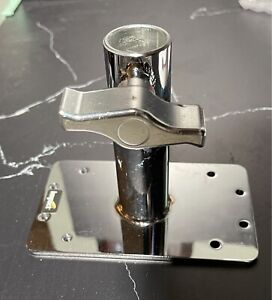 """Impact Wall Plate with 1-1/8"""" Locking Receiver"""