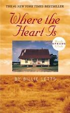Where the Heart Is - Acceptable - Letts, Billie - Mass Market Paperback