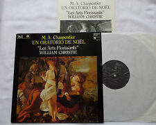 CHARPENTIER: Un Oratorio de Noël = Christmas > Christie / Harmonia Mindi LP exc
