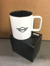 New MINI Cooper Logo Ceramic Coffee Tea Cup Mug 17 oz  White 80902353386