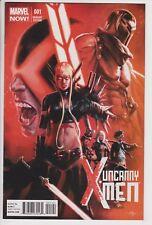 Uncanny X-Men #1 (Apr 2013, Marvel) NM 1:50 Gabriele Dell'Otto Variant