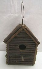 Rustic Twig Branch Wood Birdhouse