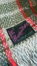 More details for heather valley vintage tartan woolly blanket 140cm by 160cm - 55