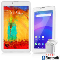 Android 9.0 Pie 7in 4G LTE SmartPhone TabletPC QuadCore Bluetooth WiFi UNLOCKED