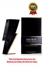 BAD BOY by Carolina Herrera EDT 6 mL Spray Bottle Sample Travel Size Men Perfume