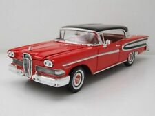 Ford 1960 Edsel Citation Hard Top in Scarlet Red/Black and Chrome 1.18 scale