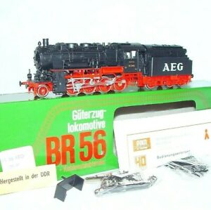 Piko HO DR Deutsche Reichsbahn BR-56 STEAM LOCOMOTIVE + Coil Powder Tender MIB!