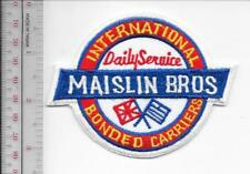 Vintage Trucking & Van Lines Canada Maislin Brothers International Inc Toronto