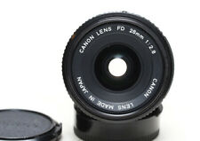 Canon FD 28mm f/2.8 manual focus wide angle lens