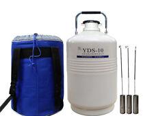 Yds 10 10l High Quality Liquid Nitrogen Container Cryogenic Tank Dewar