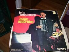 JOHN WOODHOUSE & HIS MAGIC ACCORDION-LP-NM-PHILIPS-STEREO-HOLLAND IMPORT