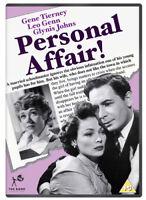 Personal Affair DVD (2018) Gene Tierney, Pelissier (DIR) cert PG ***NEW***