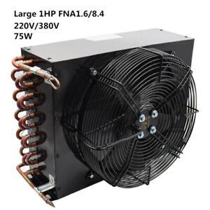 1HP FNA1.6/8.4 8.4m² 220/380V Refrigeration Condenser Aluminum Sheet Copper Tube
