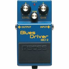 Boss BD-2 Blues Driver Pedal +Picks
