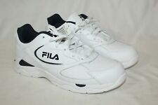 New listing NEW Fila Tri Runner Men Athletic Running Shoes Size US 9.5 White Navy Leather