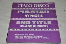 "Italo Disco - End Title Blade Runner Vangelis - 80s - 12"" Maxi Single Vinyl LP"