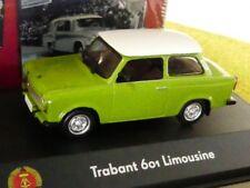1/43 Atlas DDR Auto Kollektion Trabant 601 Limousine grün 7230 001