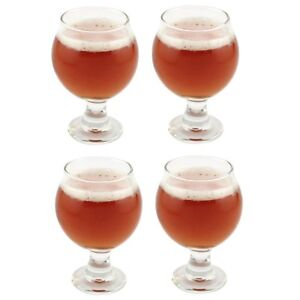 Libbey Belgian Beer Taster Glass 5 oz (3816)  4-Pack w/ Pourer FREE SHIPPING
