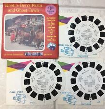 """View-Master """"Knott's Berry Farm And Ghost Town"""" Vacationland Series 3 Reels A235"""
