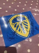 More details for genuine hand-signed leeds fc 20/21 photo 8x6, 12 players