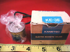 Kanetec KE-3E Electro Magnetic Holder KE3E 24vdc 0.085a DC 24 volt .085 amp New