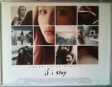 Cinema Poster: IF I STAY 2014 (Quad) Chloë Grace Moretz Mireille Enos StacyKeach