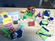 LARGE LOT PLAYMOBIL,FIGURES,HOME ACCESSORIES AS SHOWN