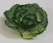Designer Small Artificial Faux Fake Kale with Stem Vegetable