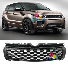 For Land Rover Range Rover Evoque 2012-2019 Black Honeycomb Front Upper Grille
