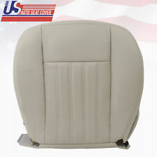 2004 Lincoln Aviator Luxury Sport Driver Bottom Genuine Leather Seat Cover Tan