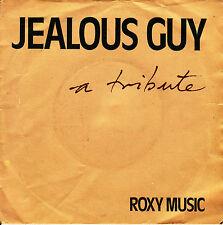 """7"""" ROXY MUSIC a tribute JEALOUS GUY 45 SPAIN 1981 JONN LENNON SINGLE"""
