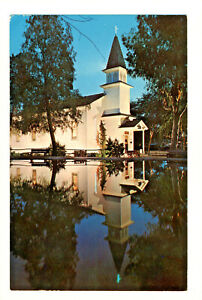 Postcard KNOTT'S BERRY FARM Church of Reflections Peaceful and Inspiring D3