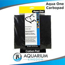 Aqua One CarboPad Carbon Pad Aquarium Filter Media Cut to Size Fish Tank #10448