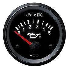 VDO 24V Electrical Engine Oil Pressure Gauge 0-500Kpa and Sender 350040016