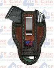 MADE IN USA Bersa Thunder 380Small of Back SOB IWB Conceal Nylon Holster