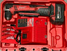 Milwaukee 2615-21 M18 Cordless Right Angle Drill Kit with 5.0Ah Battery