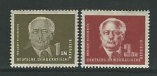 Germany: Scott 56,57, mint never hinged personalities. GE155