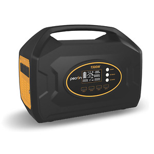 Pecron S1500 1500W Portable Power Station Super Fast Charging Backup Power