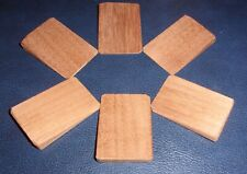 6 x mini wooden wedges for wobbly furniture