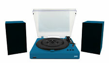 Jam Hx-tb101 3 Speed Turntable With Stereo Speakers - Blue