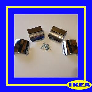 105826 (109535) X 4 IKEA ORIGINAL IKEA Opparyd handles +screws-PAX VIKEDAL METOD