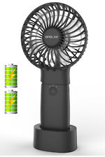 OPOLAR 5200mAh Mini Handheld Personal Fan Battery Operated Portable Table Fan