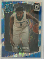 2017-18 Donruss Optic Malik Monk Flash Shock RC Rookie Card #190 Holo Prizm