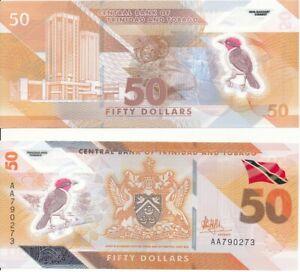 Trinidad & Tobago - 50 Dollars 2020 UNC Lemberg-Zp