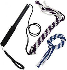 ANG ® FLIRT Pole Corda Tug giocattolo per cane, misto cotone intrecciato corda giocattolo all'aperto per